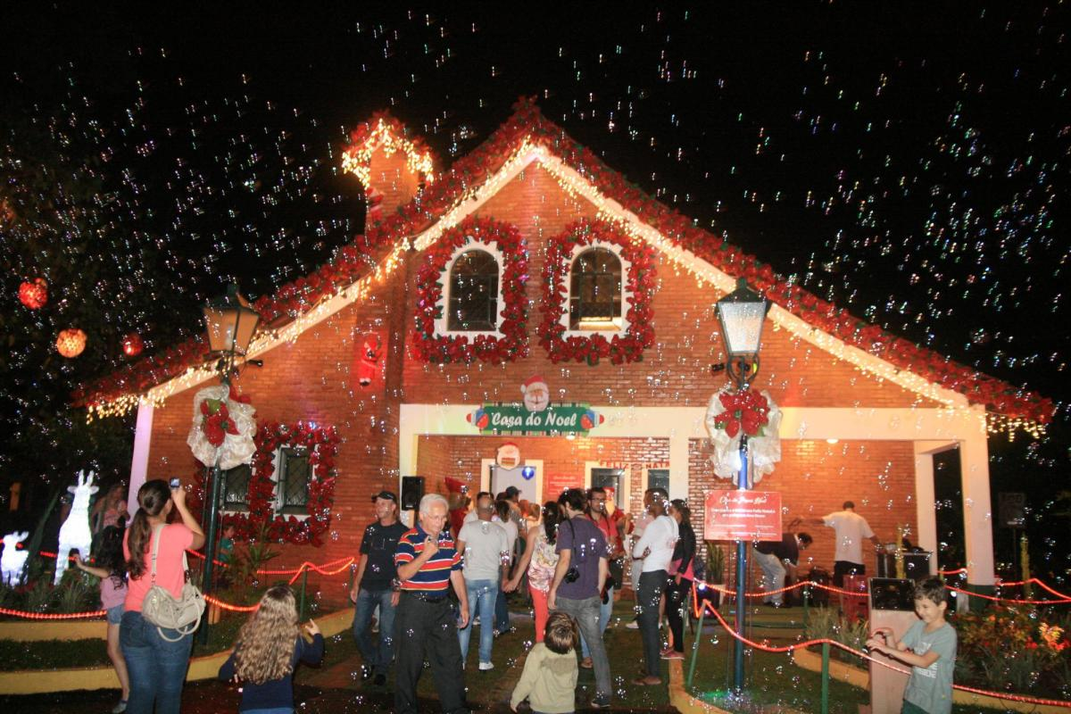 Casa do Papai Noel, em Socorro (SP)