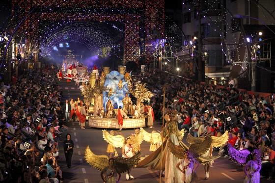 Grande desfile do Natal Luz de Gramado