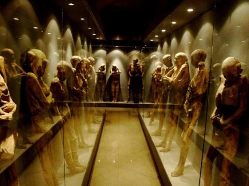 O impressionante Museu das Múmias, no México