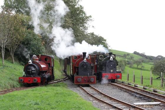 Os Great Little Trains, no País de Gales, Inglaterra