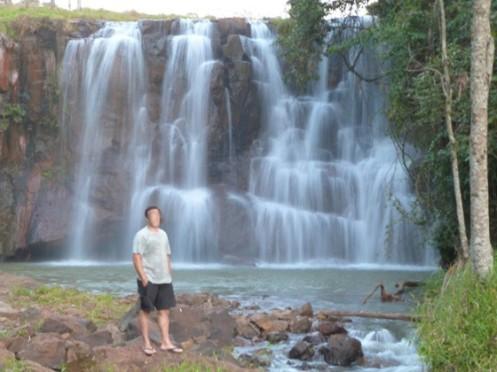 Cachoeira do Saltão, uma das atracões de Itirapina