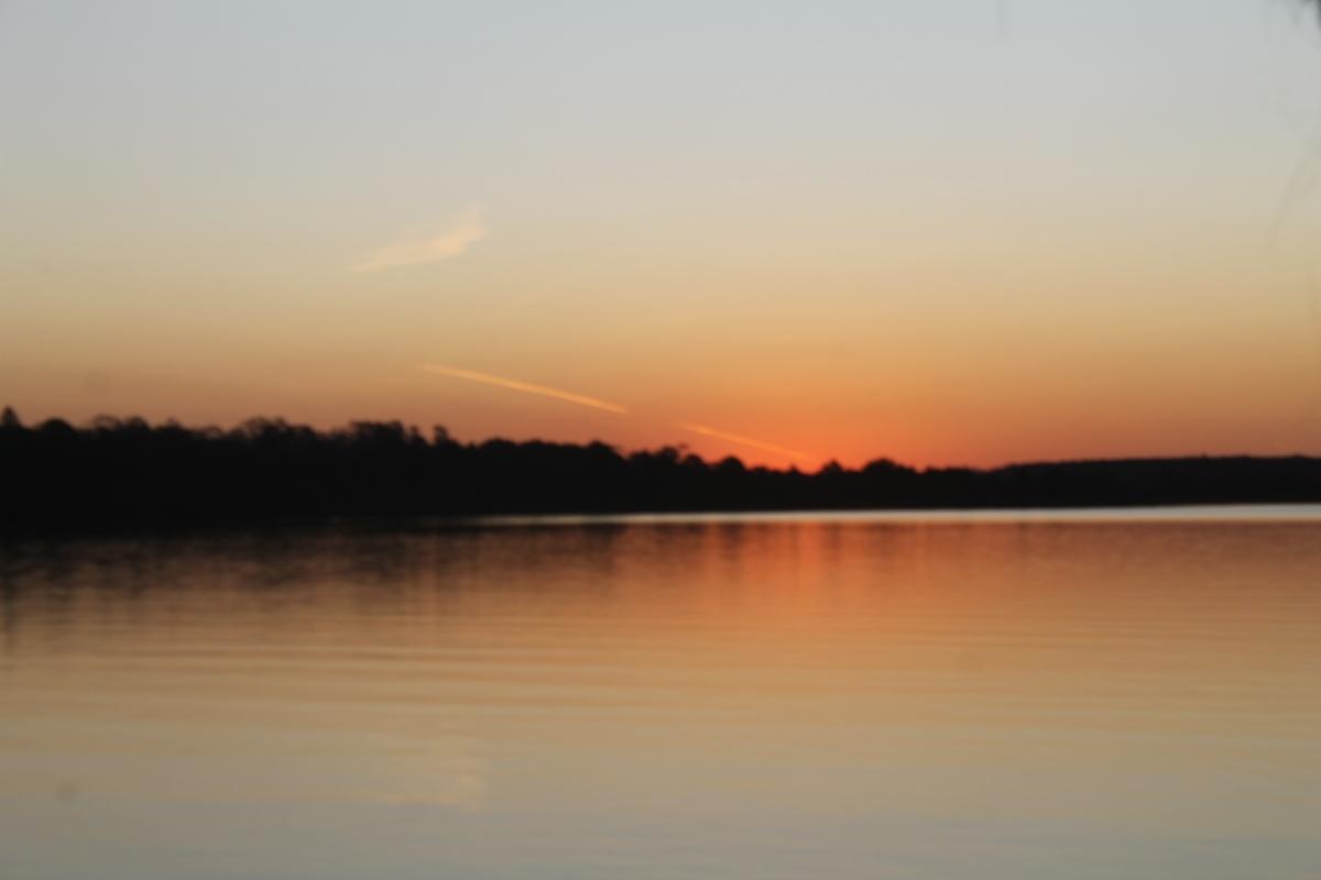 Pôr do sol em Itirapina - SP.JPG