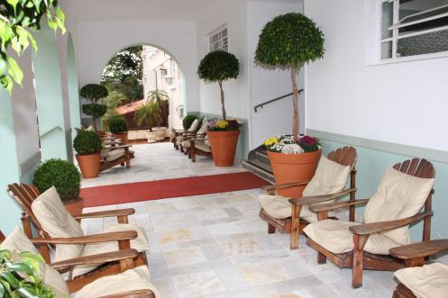 Avenida Charme Hotel - Varanda