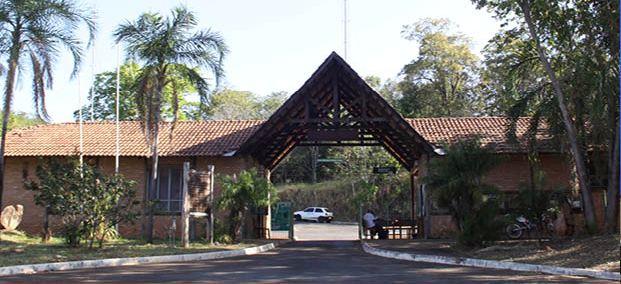 Entrada do Parque Estadual da Serra de Caldas Novas