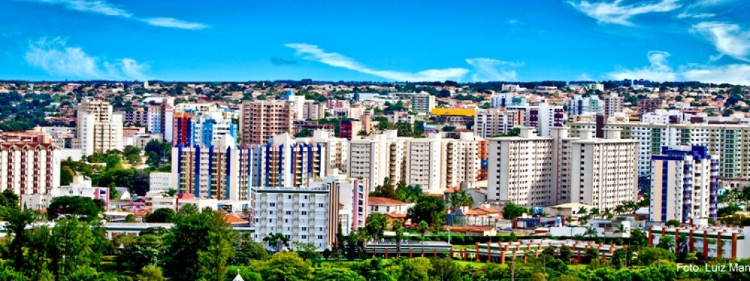 Panorama da cidade de Caldas Novas Foto Luiz Manoel
