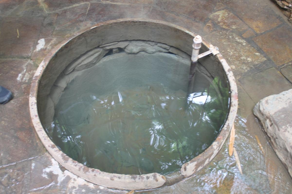 Poço do Queima Ovo Quente do Lagoa Parque