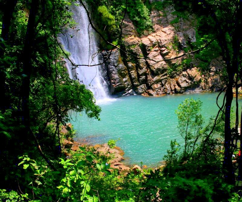 Cachoeira Da Serra Azul Foto Site Nobres Turismo