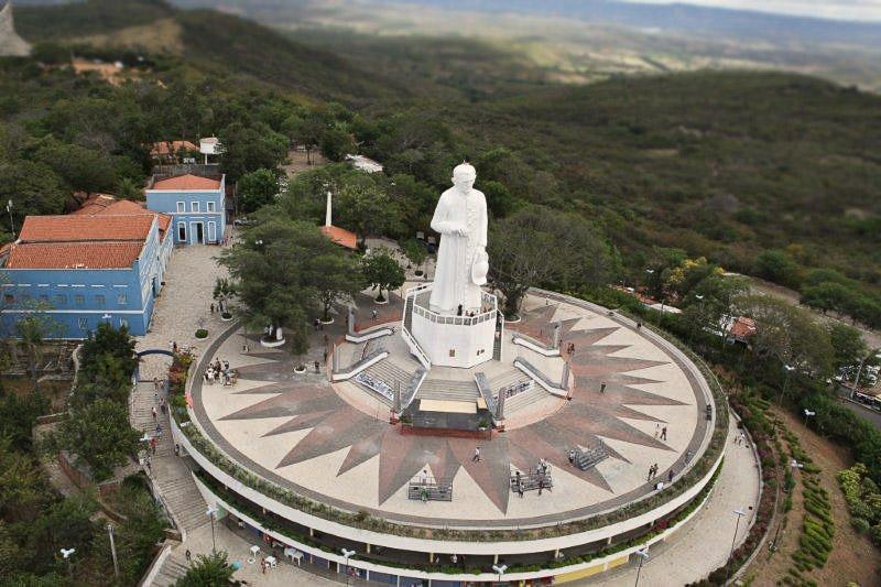 Estátua de Padre Cicero - Juazeiro do Norte - Ceará