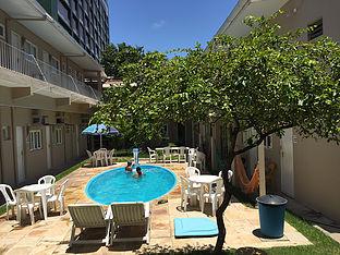 Piscina do Maceió Hostel/Alagoas