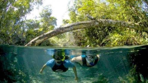 Rio Triste - Foto Pousada Rota das Águas