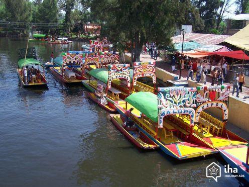 Cidade do México - Barcos de Xochimilco