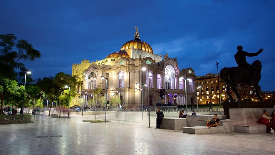 Palacio de Bellas Artes - Cidade do México - Foto site expedia.com.br