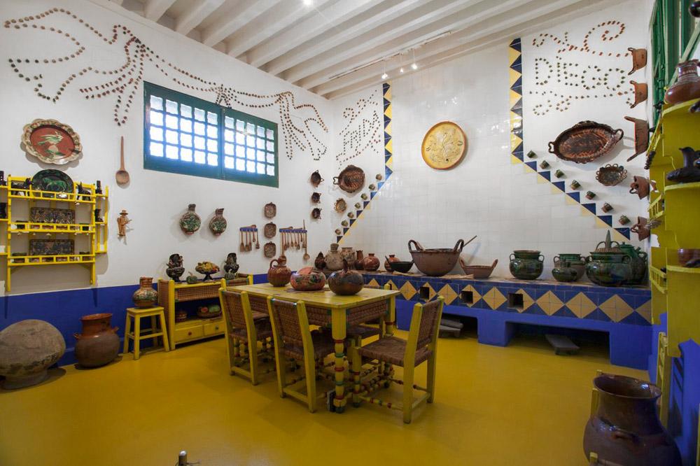 Cozinha da Casa Azul de Frida Kahlo1