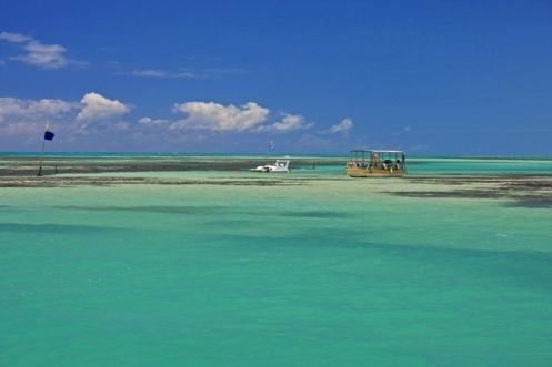 Piscinas naturais de Paripueira - Foto Rota dos Corais Viagens e Turismo Maragogi - AL