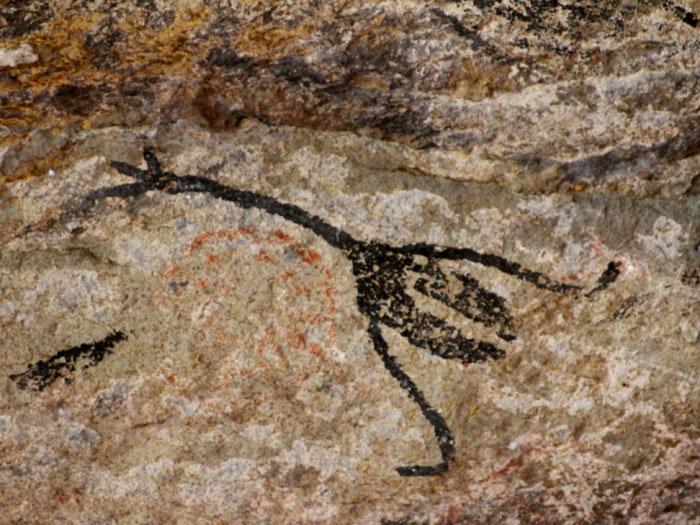 arte-rupestre-na-gruta-de-maquine-em-cordisburgo-mg