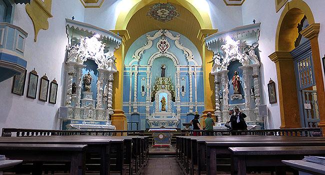 Santo Antônio de Lisboa - Floripa (SC) - Igreja Nossa  Senhora  das Necessidades - Foto  Site  Matraqueando.jpg
