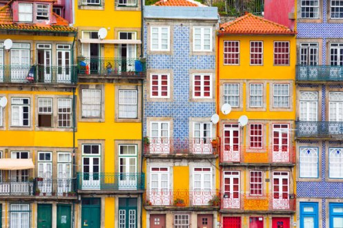 Casas típicas do Porto - Foto Europe Best Destination