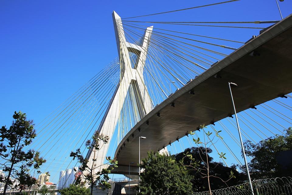 Ponte Estaiada - São Paulo - Foto Pixabay