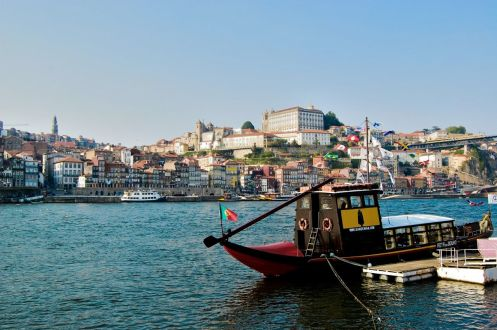 Porto - Passeio náutico pelo Rio Douro - Portugal