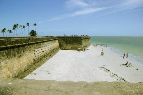 Forte Orange, Ilha de Itamaracá, Pernambuco, Brasil - Foto Wikimedia