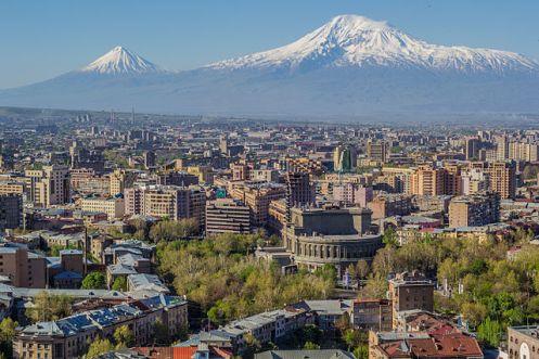 Mounte Ararat e Ierevan - Foto Wikimedia