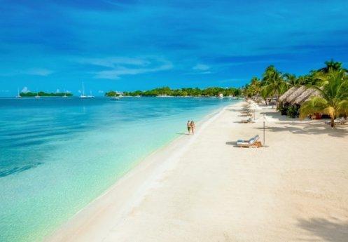 Sunset at the Palms Resort - Negril, Jamaica