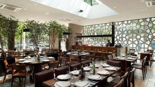 Restaurante libanês Manish - Itaim Bibi