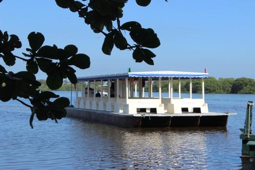 Balsa - lagoa do Marapendi