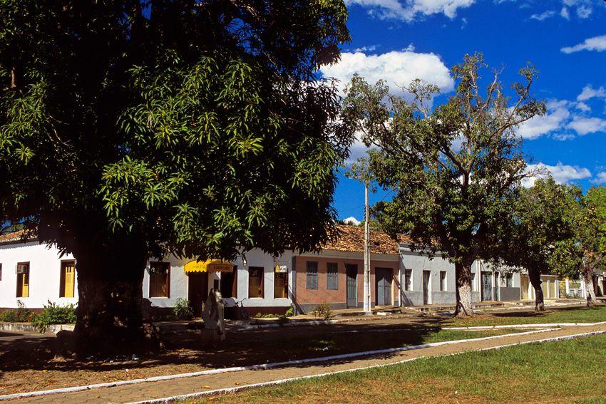 Centro histórico de Carolina no Maranhão - Foto Setur Carolina