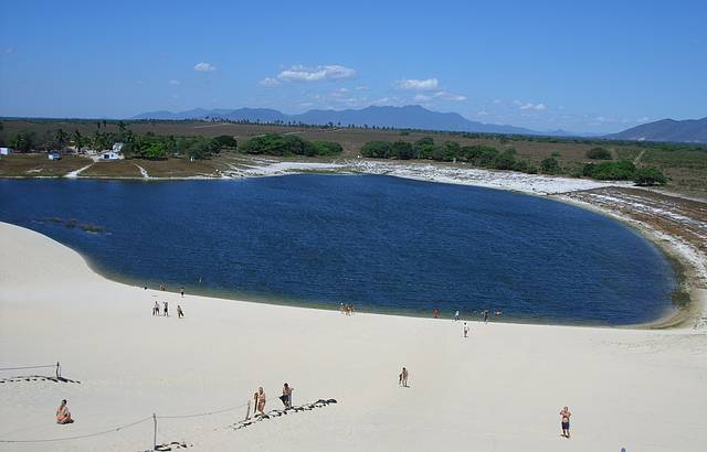 Lagoa do Banana - Cumbuco - Foto site Meu Rancho