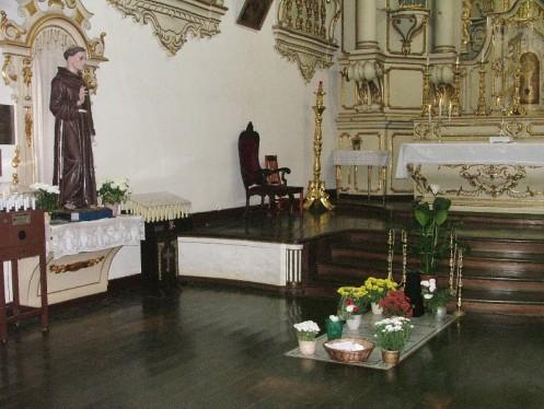 Túmulo de Frei Galvão - Foto Mosteiro da Luz