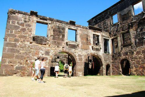 Castelo Garcia D'Ávila - Praia do Forte - Bahia - Brasil - Foto Portomar Passeios Turísticos