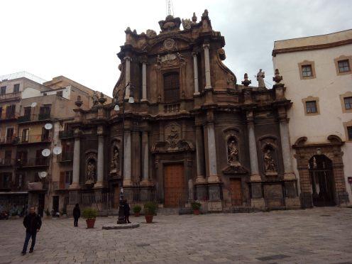 Fachada da Igreja de Sant'Anna  em Palermo, Italia - Foto Wikimedia.jpg