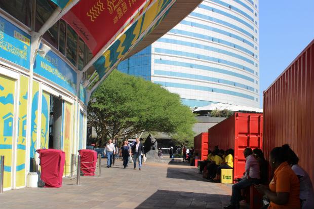 Centro de Convenções em Durban A