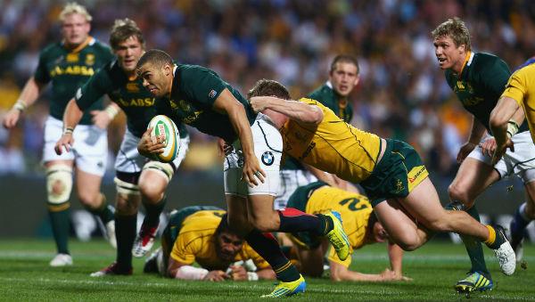 Equipe Springbok em ação – Foto SA Rugby