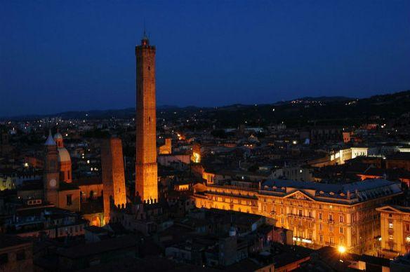 torres Asinelli e Garisenda - Wikimedia