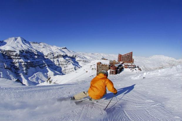 Valle Nevado - criança