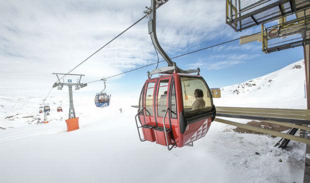 Valle Nevado - Teleférico