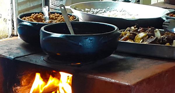 Comida da roça - Carrancas (MG)