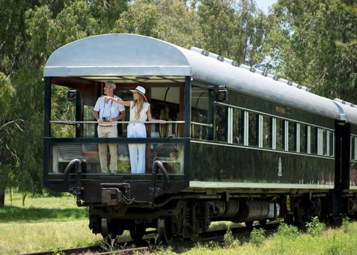 Rovos Rail -Vagão Observatório - Foto Divulgação