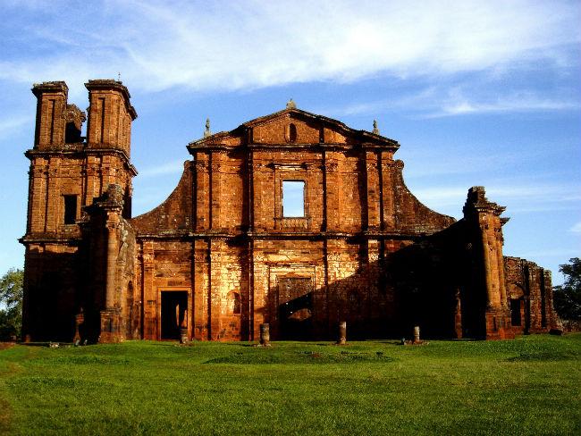 Ruinas de São Miguel das Missoes - Foto Wikipédia