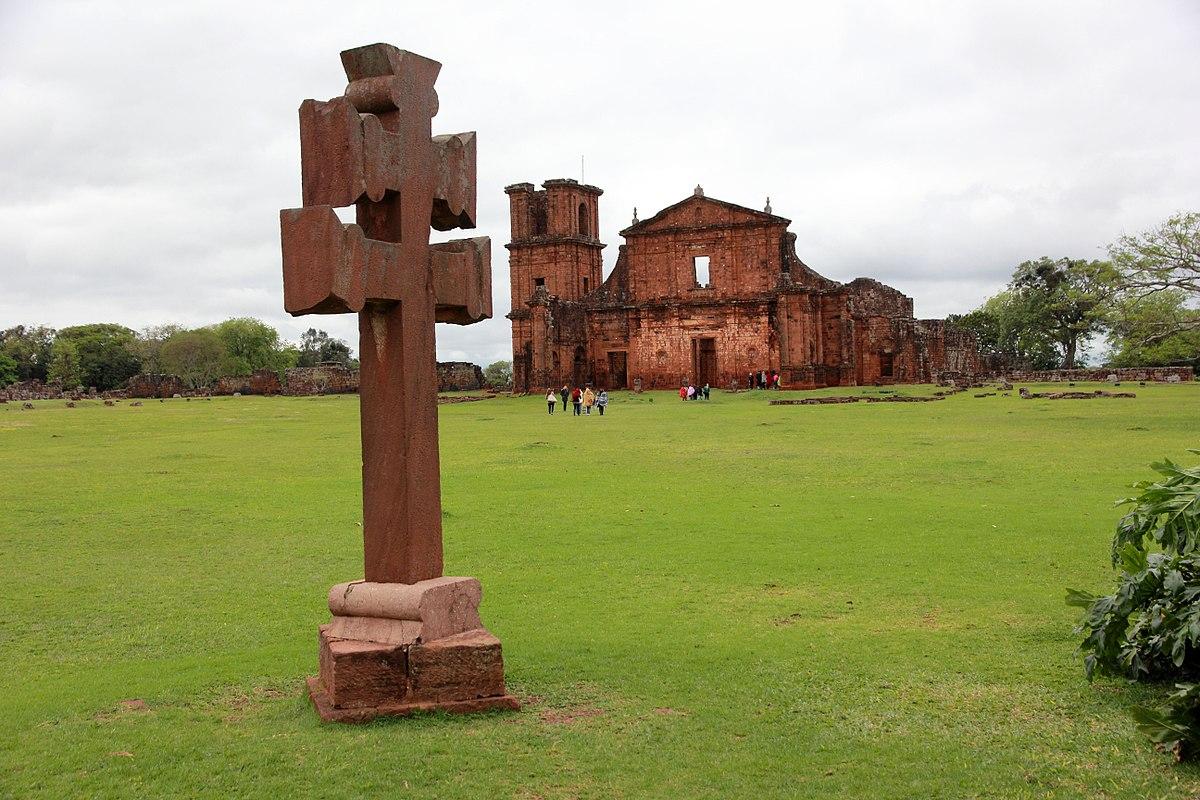 Sítio Arqueológico de São Miguel Arcanjo (RS) - Foto Wikipédia