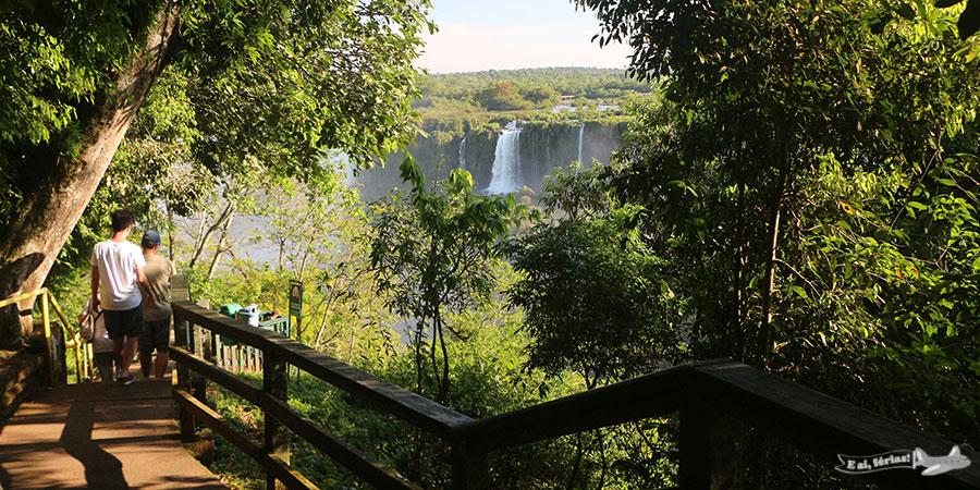 Trilha do Parque Nacional do Iguaçu - Foto Site E aí, férias