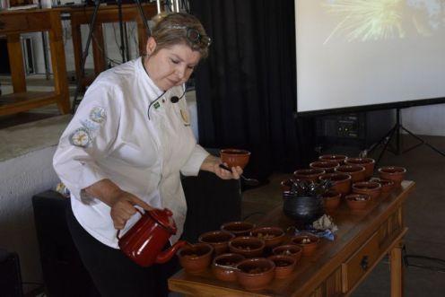 A chef Elzinha Nunes. Foto Prefeitura de Passos - Minas Gerais