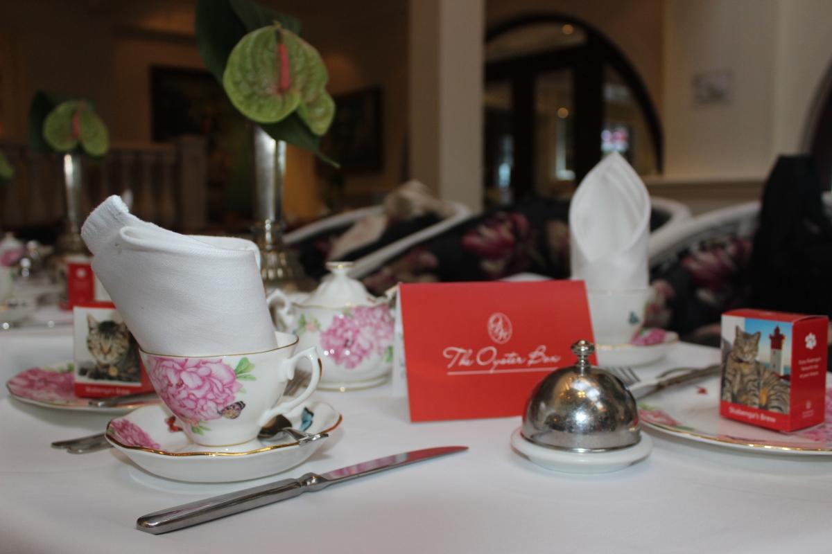 Chá da  tarde no The Oyster Box - Tradição herdada dos ingleses 1.JPG