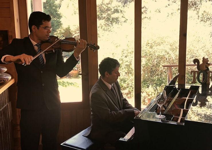 Daniel Guimarães e Antonio Luiz Barker