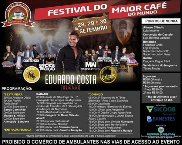 Festival - programação