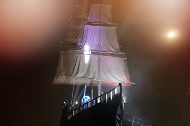 Navio Pirata Pérola Negra - marina