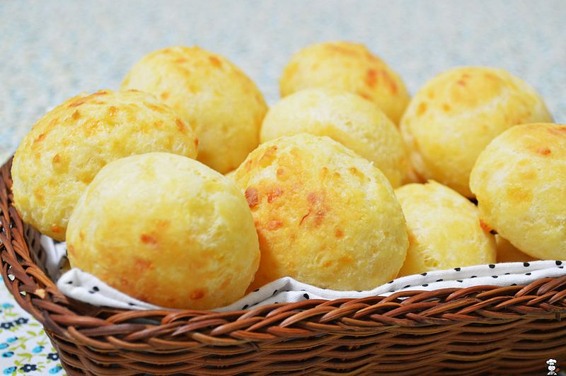 Pão de queijo - Foto Wikimedia