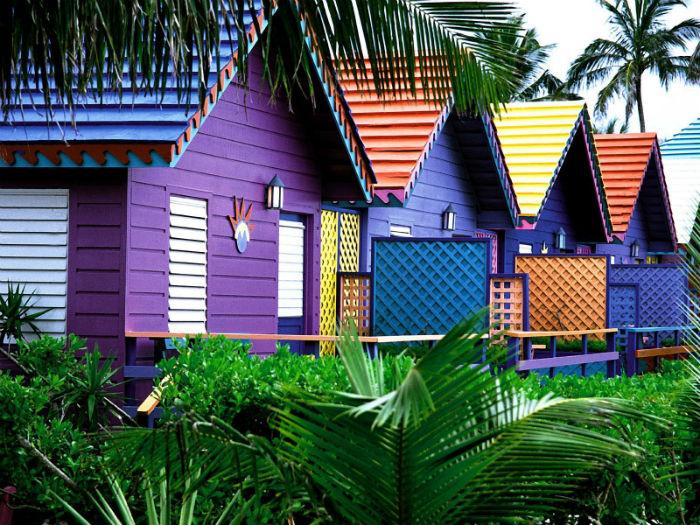 Casas das Bahamas - Foto Natalie Lyon - Pinterest